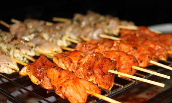 Как правильно приготовить шашлык из курицы — рецепты приготовления